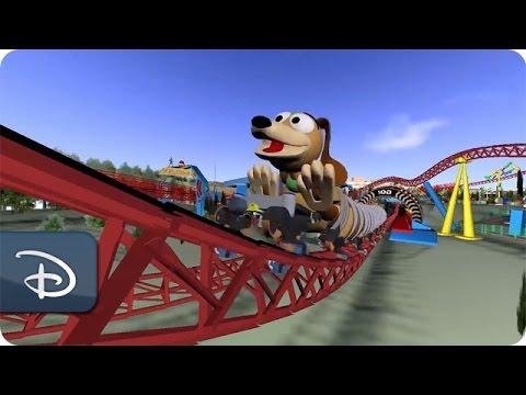 Slinky Dog Dash Attraction Concept - Toy Story Land | Walt Disney World