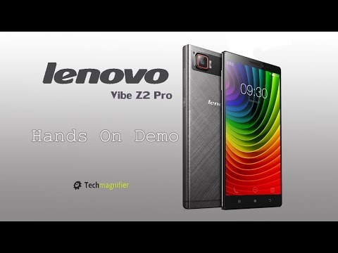 Lenovo Vibe Z2 Pro Hands On Demo