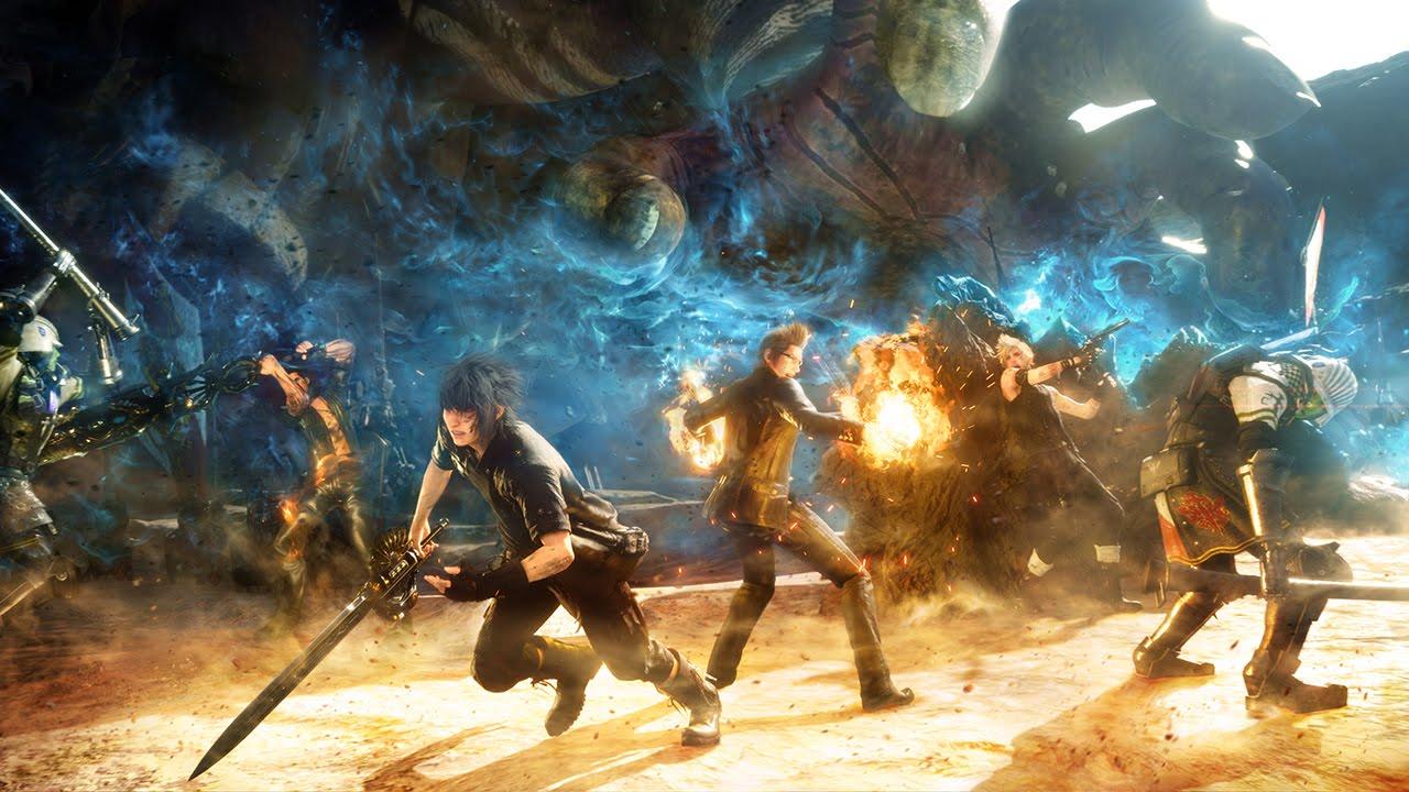 Final Fantasy 15 Dawn Trailer - Gamescom 2015