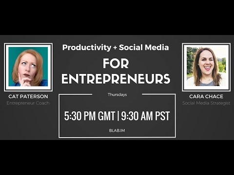 #Blab 13 Successful Entrepreneurs | Productivity & Social media | Small Business | Power Process
