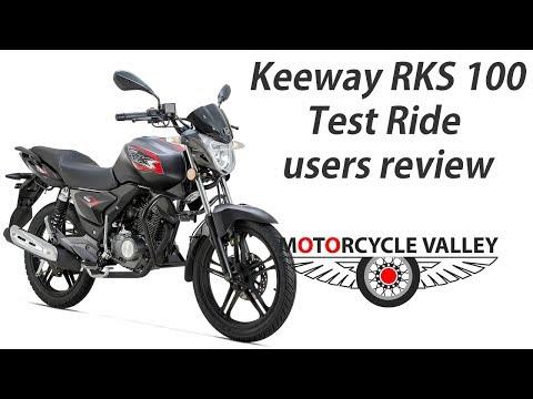 Keeway RKS 100 Test Ride users review