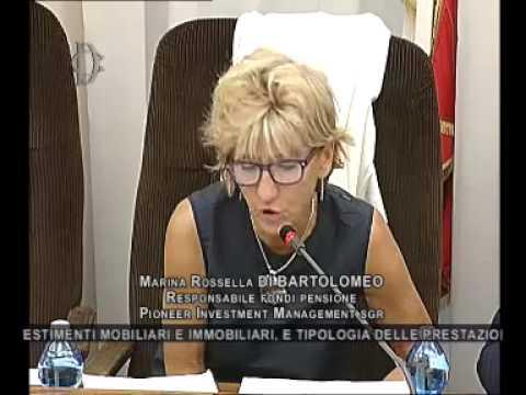 Roma - Audizioni su fondi pensione e casse professionali (15.07.15)