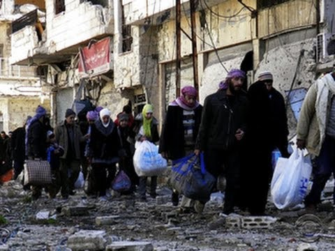 Convoys targeted during Homs evacuation