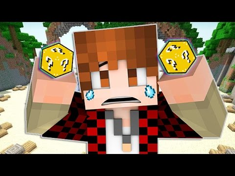 Minecraft: LUCKY BLOCKS Hunger Games Island! with The Pack!