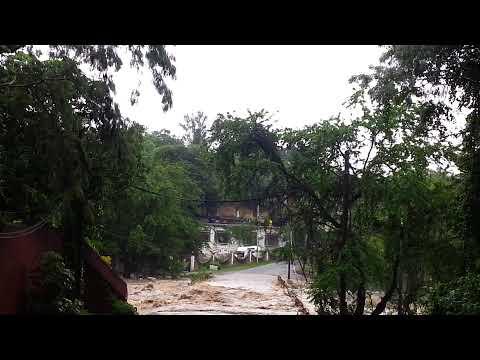 Desbordamiento del río amacuzac