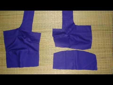 Lets See How To Sew A Sari Blouse video