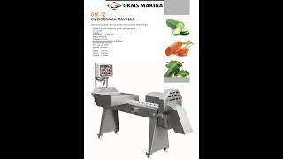 Gkms Makina GM-12 Çarliston Biber 6mm kesim