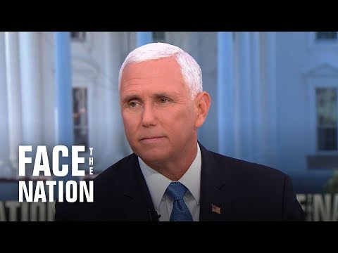 Pence blames Congress for harsh conditions at migrant detention centers