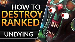 The ULTIMATE Undying guide: Best Tips to DESTROY LANE, CARRY and RANK UP | Dota 2 Pro Support Guide