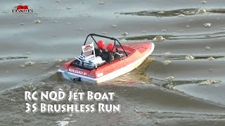 NDQ Jet boats Tear into Toy grade RC JetBoat racing