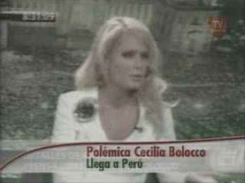 Cecilia Bolocco: El Pisco original es Peruano