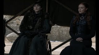 Bran Stark Voted New King of Westeros (GOT S8 E6)
