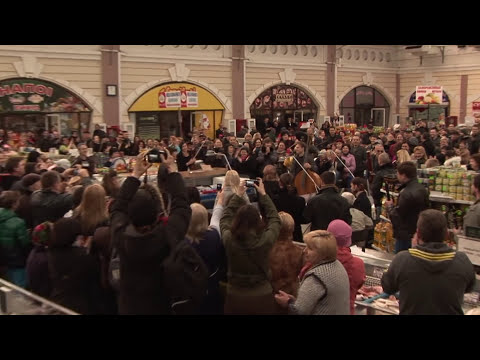 Official (Официальное) - Flash mob (Флешмоб): Odessa (Одесса) Musicians Privoz (Музыканты Привоз)