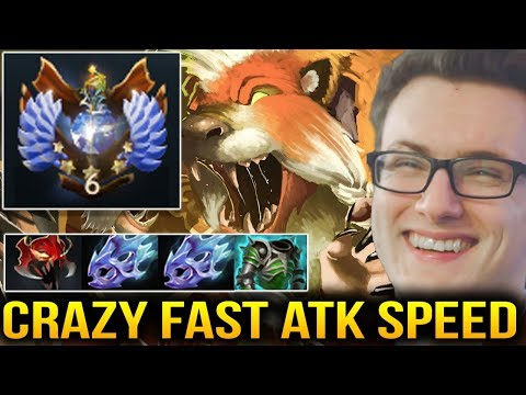 Miracle- Lone Druid CRAZY FAST ATTACK SPEED - Dota 2 7.07c
