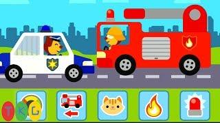 Lắp Ráp Xe Cảnh Sát, Xe Cứu Hỏa, Xe Taxi, Xe Thức Ăn Nhanh - TopKidsGames (TKG) 407