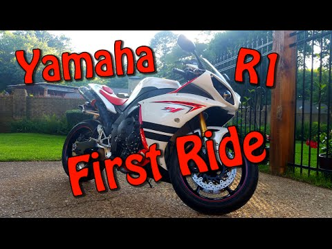 2009 Yamaha R1 Review and First ride   First Time On a 1000cc Sport Bike