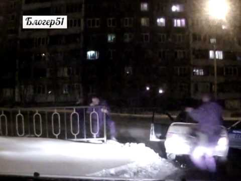 Погоня со стрельбой в Мурманске в ночь на 27 марта