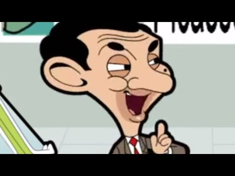 Bean's antics at the National Gallery - Mr Bean Animated