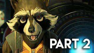 Guardians of the Galaxy Gameplay Walkthrough Part 2 - ROCKET'S REVENGE!! (PC Gameplay)