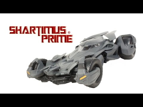 Batman v Superman Batmobile Dawn of Justice Movie Jada Toys Model Action Figure Vehicle Review