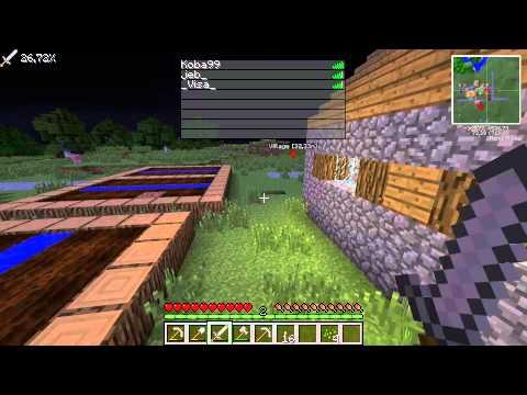 Minecraft С модами - Ищем дом - Часть 2