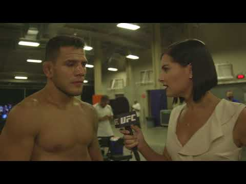 "UFC 215: Rafael Dos Anjos ""I Was Able to Control Him"""