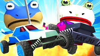 Download Lagu BAT FROG vs JOKE FROG RC CAR RACE - Amazing Frog - Part 124 | Pungence Gratis STAFABAND