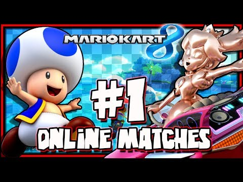 Mario Kart 8 Wii U - (1440p) Online Matches #1