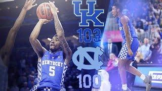 MBB: Kentucky 103,  North Carolina 100