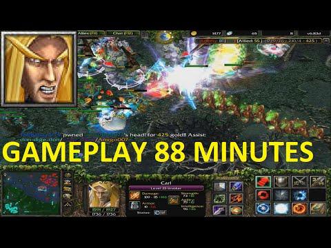 DotA 6.83d - Invoker GAMEPLAY  88 MINUTES