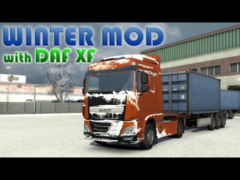 ETS2 Winter mod + Download   Euro Truck Simulator 2