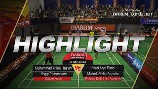 Download Lagu M Alfian/Yoggi Pamungkas (Djarum Kudus) VS Farel Aryo/Muliadi Rizka (Pratama Badminto Academy) Gratis STAFABAND