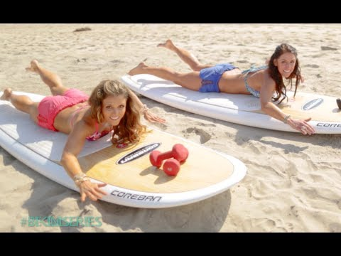 BIKINI SERIES Your Surfer's Paradise Workout ~ Full Body Toning Routine!