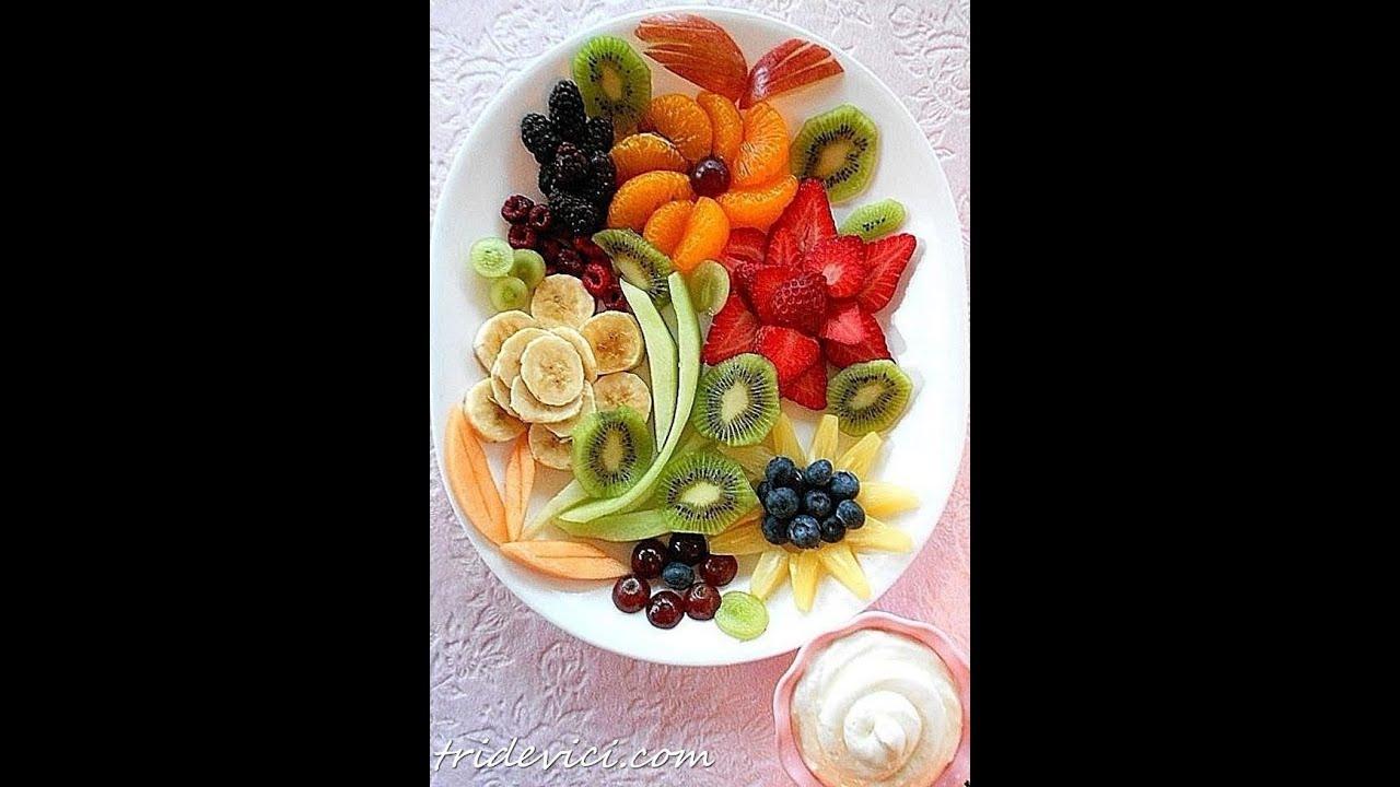 Как нарезать фрукты пошагово с фото