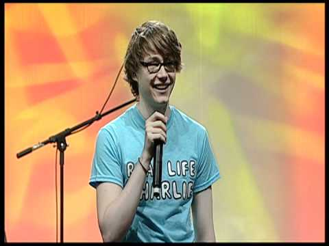 Charlie McDonnell on Mainstage @ VidCon 2012!