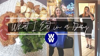 WHAT I EAT IN A DAY ON MYWW FOR WEIGHT LOSS | MINI TURKEY MEATLOAF | WEIGHT WATCHERS!!