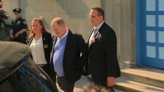 NY grand jury indicts Weinstein on rape, sex crime charges