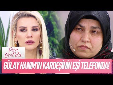 Gülay Hanım'ın evlatlık verilen kardeşinin eşi telefonda.. - Esra Erol'da 25 Aralık 2017
