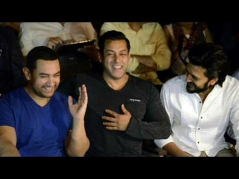 What Made Salman Khan And Aamir Khan Laugh Out Loud?