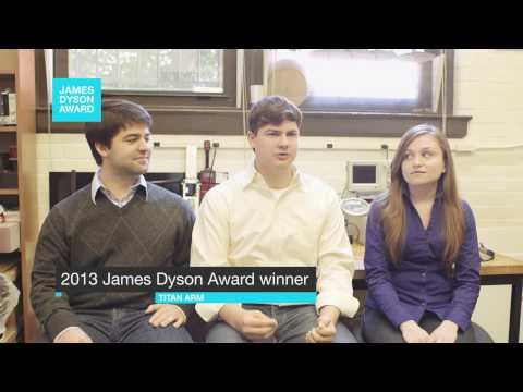 2013 James Dyson Award Winner - Titan Arm