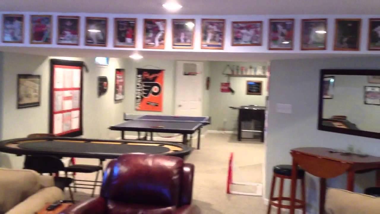 Philadelphia Eagles >> Sports Dream Man Cave - YouTube