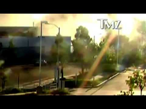 Paul Walker Crash Accident Caught in 'Surveillance' Camera Dead [RAW VIDEO] 720p HD