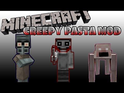 CREEPY PASTA CRAFT MOD - Town universe 3 mod.MOBS DE TERROR-Minecraft 1.7.2 español