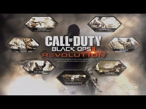 Black Ops 2 - Revolution DLC Trailer