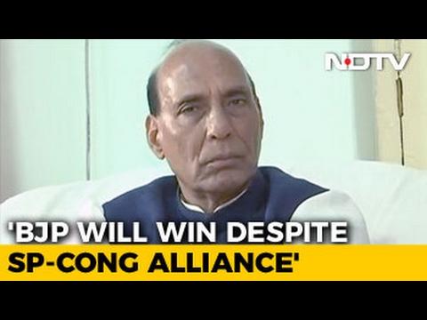 Without Akhilesh-Congress Alliance, BJP Would Cross 300: Rajnath Singh To NDTV