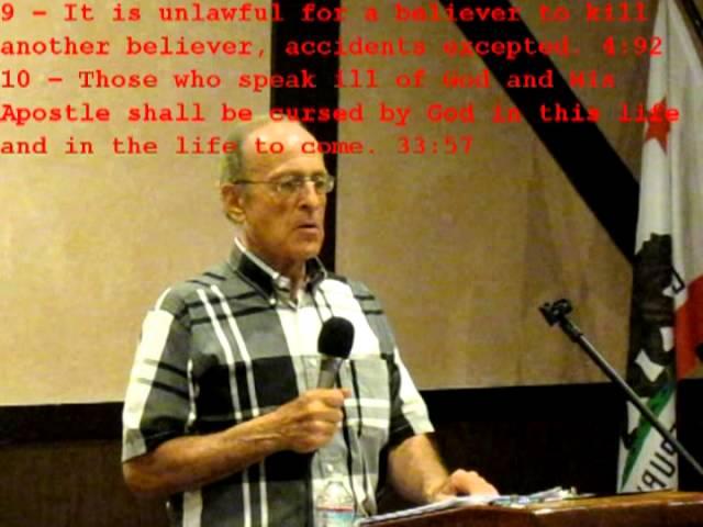Islamic Ideology by Dr  Carl Goldberg ~ Part 1 of 2