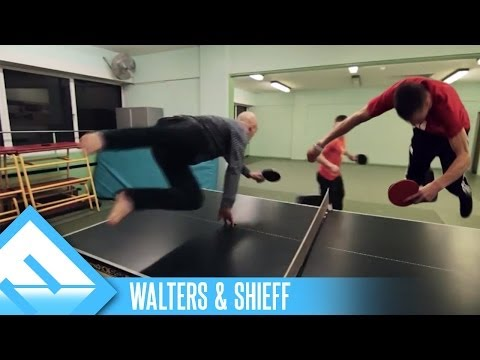Epic Speed Pong! | Walters &amp; Shieff (ep. 3)