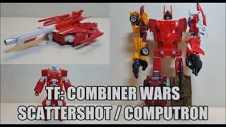 Transformers Combiner Wars Scattershot & Computron Review! Bert the Stormtrooper Reviews!