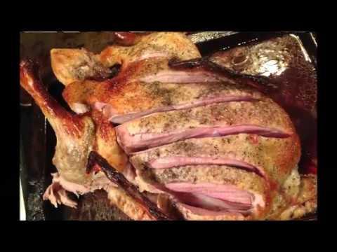 Простой рецепт Ароматная праздничная медовая утка