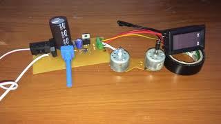 220 V AC - 12 V DC Çevirici 5 Amper Güç Kaynağı Yapımı
